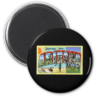 Greetings from Arizona 6 Cm Round Magnet