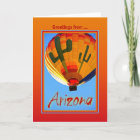 Greetings From Arizona Card