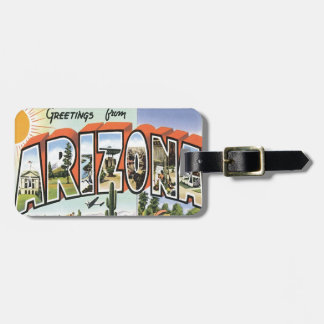 Greetings From Arizona Luggage Tag