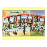 Greetings from Arizona Postcards
