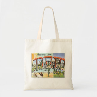 Greetings From Arizona Tote Bag
