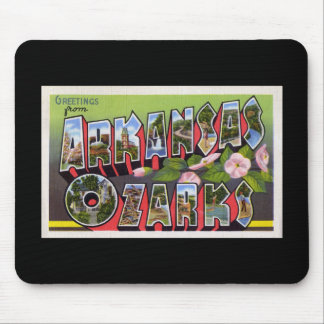 Greetings from Arkansas Ozarks Mouse Pad