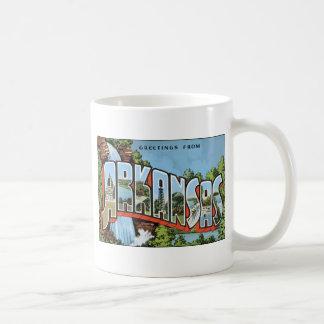Greetings From Arkansas, Vintage Coffee Mug