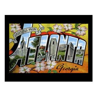 Greetings from Atlanta Georgia Postcard
