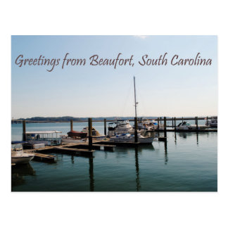 Greetings from Beaufort, SC Postcard
