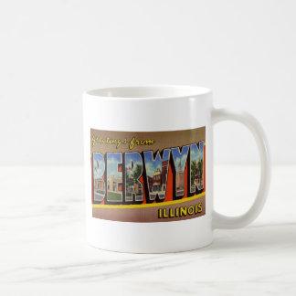 Greetings from Berwyn Illinois Coffee Mugs