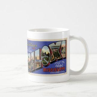 Greetings from Biloxi MS Coffee Postcard Mug