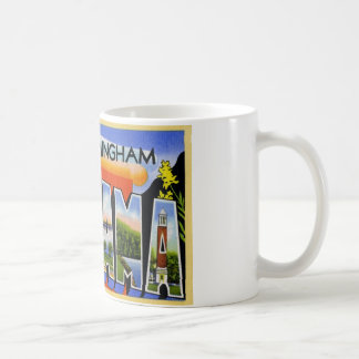 Greetings from Birmingham Alabama Coffee Mug