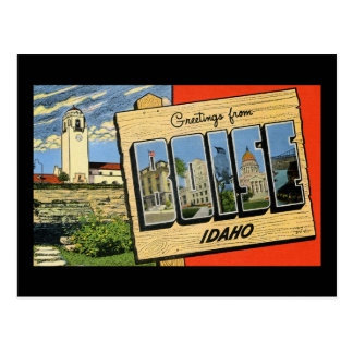 Greetings from Boise Idaho Postcard