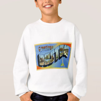 Greetings from Boston Massachusetts Sweatshirt