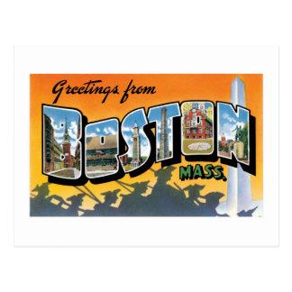 Greetings from Boston! Postcard