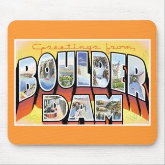 Greetings from Boulder Dam Mousepad