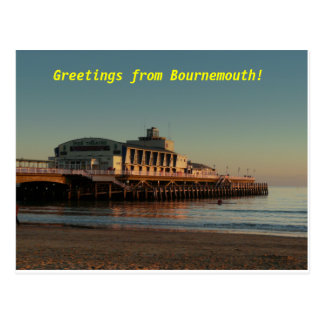 Greetings from Bournemouth! Postcard