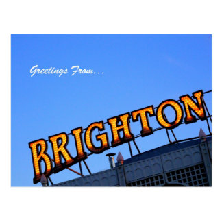Greetings from BRIGHTON Post Card