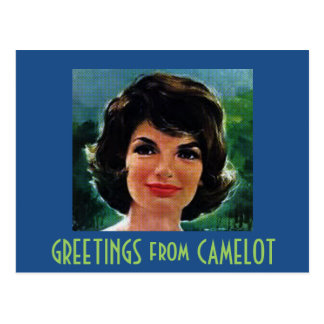 GREETINGS from CAMELOT Postcard