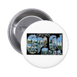 Greetings from Cape Cod 6 Cm Round Badge