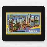 Greetings from Cape Cod Massachusetts Mouse Pads