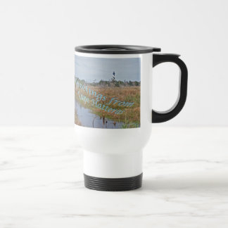 Greetings from Cape Hatteras OBX Stainless Steel Travel Mug