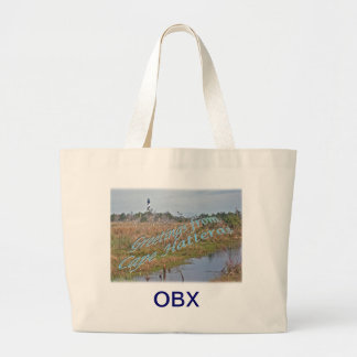 Greetings from Cape Hatteras OBX Canvas Bag
