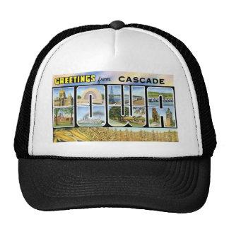 Greetings from Cascade, Iowa! Trucker Hat