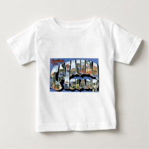 Greetings from Catalina Island, California! Baby T-Shirt