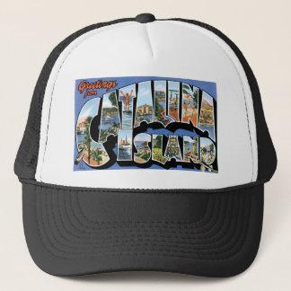 Greetings from Catalina Island, California Retro Cap