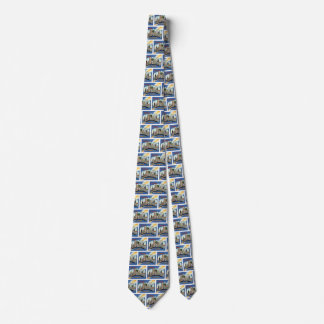 Greetings From Chicago Illinois Tie