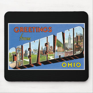 Greetings from Cleveland, Ohio! Mouse Mat