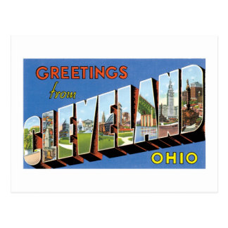 Greetings from Cleveland Ohio Post Cards
