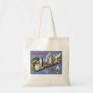 Greetings From Columbus Ohio Budget Tote Bag
