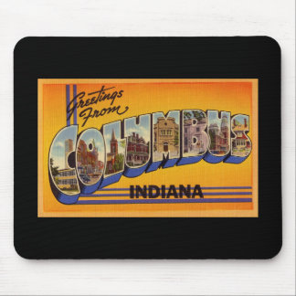 Greetings from Columbus Ohio Mouse Pads