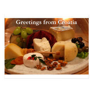 Greetings from Croatia Postcard