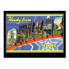 Greetings from Dallas Texas Postcard