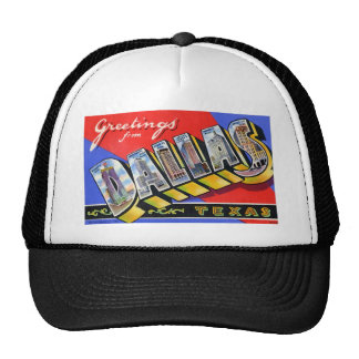 Greetings from Dallas Texas Trucker Hat