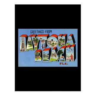 Greetings from Daytona Beach Florida Postcards