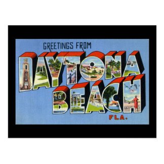 Greetings from Daytona Beach Florida Postcard
