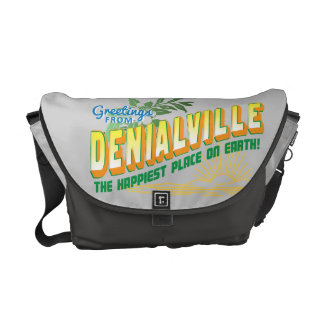 Greetings from Denialville - Happiest Place Commuter Bags