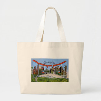 Greetings from Denver Colorado Canvas Bags