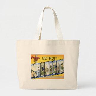 Greetings From Detroit Michigan Bag