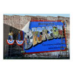 Greetings from Dickson County Tennessee ~ Mural Poster