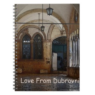 Greetings From Dubrovnik! Notebooks