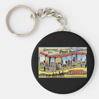 Greetings from Flagstaff Arizona Basic Round Button Key Ring