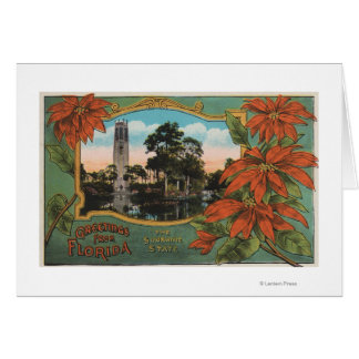 Greetings from Florida the Sunshine State Greeting Card