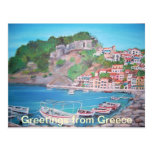 Greetings from Greece Postcard