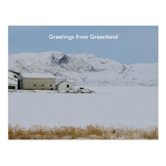Greetings from Greenland 14 Postcard
