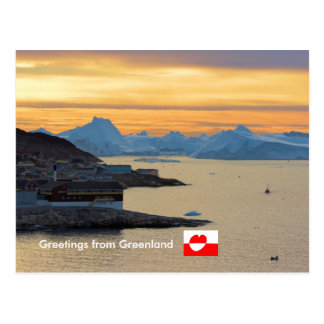 Greetings from Greenland  21 Postcard