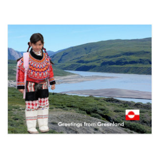 Greetings from Greenland 223 Postcard