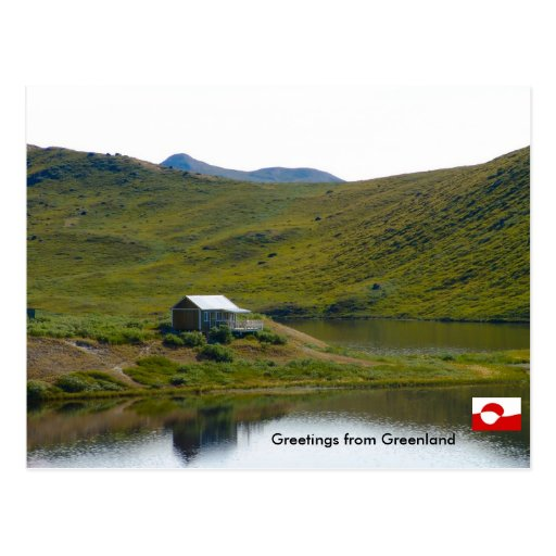 Greetings from Greenland 4 Post Cards