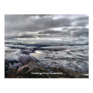 Greetings from Greenland 6 Postcard