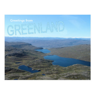 Greetings from Greenland 7 Post Card